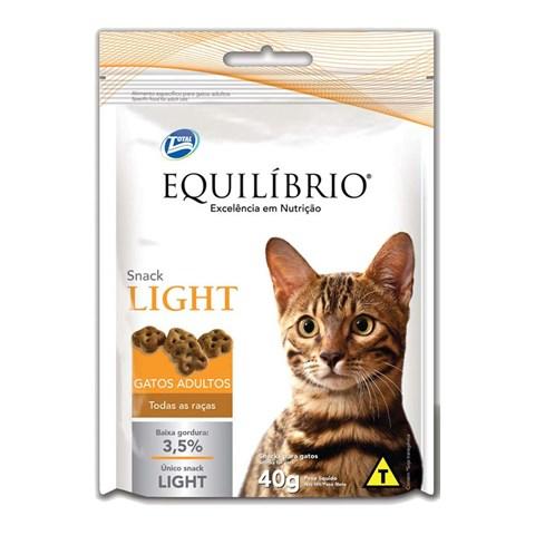 Petisco Equilíbrio Snack Cat Light para Gatos Adultos 40g