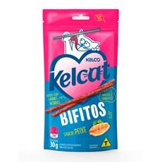 Petisco Kelco Kelcat Bifitos Peixe - 30g