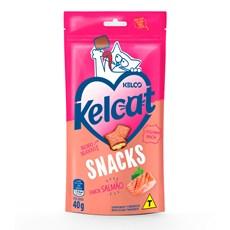 Petisco Kelco Kelcat Snacks Salmão - 40g
