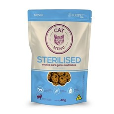 Petisco Luopet Cat Menu Sterilised - 40g