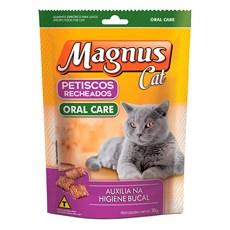 Petisco Magnus Recheado Gatos Oral Care - 30g