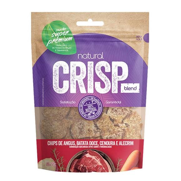 Petisco Natural Crisp Chips Angus, Batata Doce, Cenoura e Alecrim – 20g