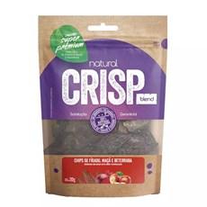 Petisco Natural Crisp Chips Fígado Com Maça e Beterraba – 20g