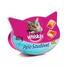Petisco Whiskas Temptations Gatos Adultos Pelo Saudável - 40g