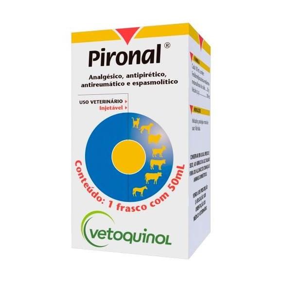 Pironal Dipirona Sodica Injetável P/ Animais Vetoquinol 50ml