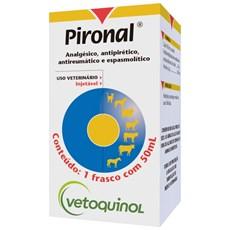 Pironal Dipirona Sodica Injetavel P/ Animais Vetoquinol - 50mL