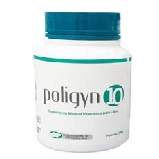 Poligyn 10 Suplemento Mineral Vitamínico Para Cães C/ 30 Com
