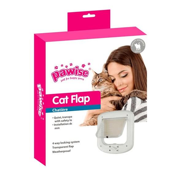 Porta para Gatos Cat Flap 4 Funções - Pawise
