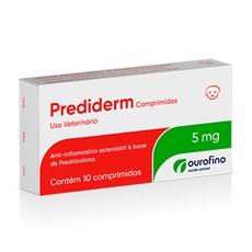 Prediderm Anti-inflamatorio 5mg Ourofino C/10 Comprimidos