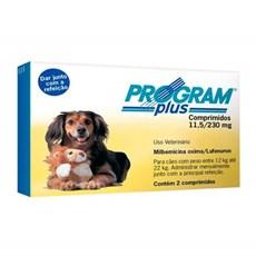 Program Plus 11 / 230mg Para Caes De 12 A 22kg C/ 2 Comp.