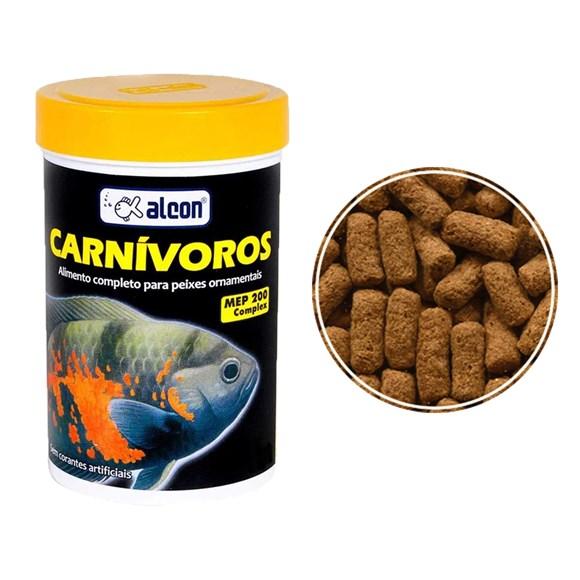 Ração Alcon Para Peixes Carnívoros - 300g