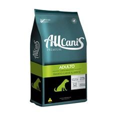 Ração Allcanis Cães Adultos Frango, Carne e Arroz - 15kg
