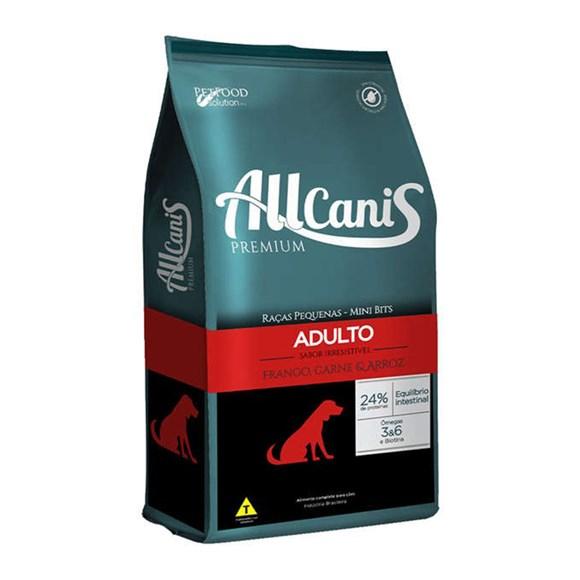Ração Allcanis Cães Adultos Raças Pequenas - 15kg