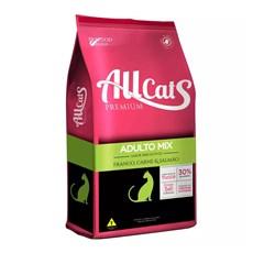 Ração Allcats Gatos Adultos Mix - 10,1kg