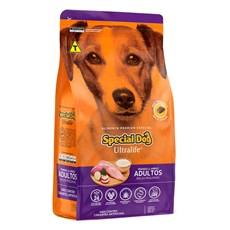 Ração Cães Special Dog Ultralife Raças Pequenas Cães Adultos Frango e Arroz – 10,1kg