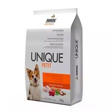 Ração Cães Unique Petit Adultos Raças Pequenas Frango e Tapioca – 2kg