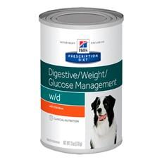 Ração Canine Prescription Diet W/D Controle da Glicemia em Lata p/ Cães 370g - Hills
