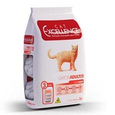 Ração Cat Excellence Adulto Carne - 3kg