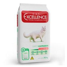 Ração Cat Excellence Adulto Castrado Salmão - 10,1kg