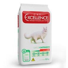 Ração Cat Excellence Adulto Castrados Carne - 10,1kg
