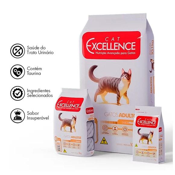 Ração Cat Excellence Adulto Frango - 10,1kg