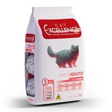Ração Cat Excellence Adulto Salmão - 3kg