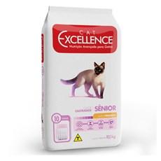 Ração Cat Excellence Sênior Castrados Frango - 10kg