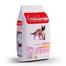 Ração Cat Excellence Sênior Castrados Frango - 3kg