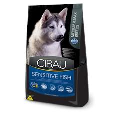 Ração CIbau Fish Cães Medium e Maxi - 12kg
