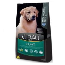 Ração Cibau Light Cães Adultos Médios e Grandes  - 12kg