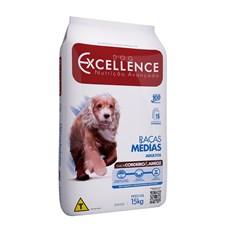 Ração Dog Excellence Adulto Raças Médias Frango e Arroz - 15kg