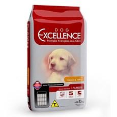 Ração Dog Excellence Filhote Raças Grandes Frango e Arroz - 15kg