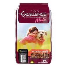 Ração Dog Excellence Multi Salmão e Carne - 12kg