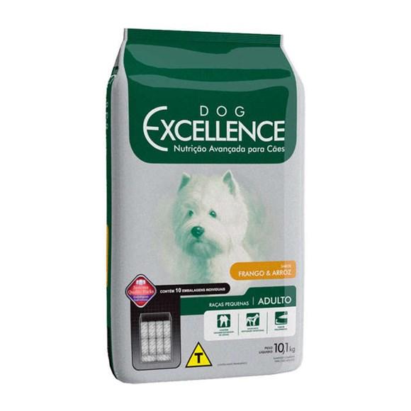 Ração Dog Excellence Raças Pequenas Adultos Frango e Arroz - 10,1kg