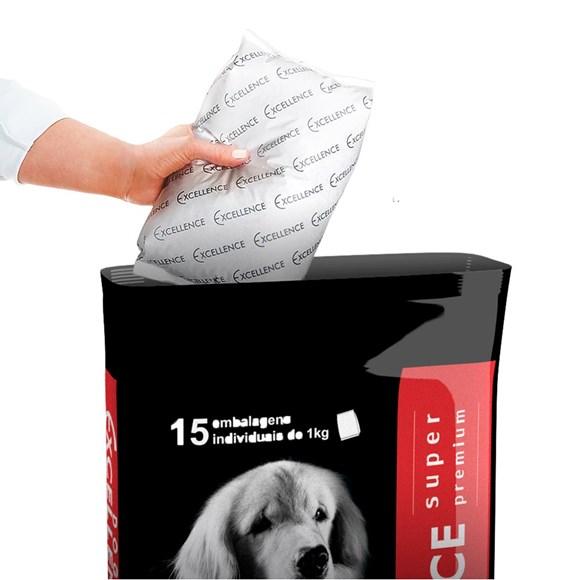 Ração Dog Excellence Super Premium Adultos Raças Grande - 15kg