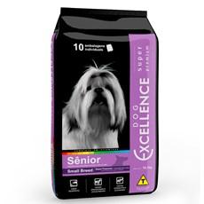 Ração Dog Excellence Super Premium Sênior Raças Pequenas - 10,1kg