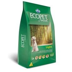 Ração Ecopet Light Cães Adultos Raças Grandes – 15kg