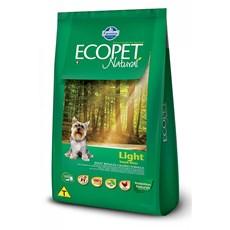Ração Ecopet Light Cães Adultos Raças Pequenas – 3kg
