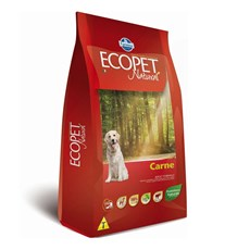 Ração Ecopet Natural Cães Adultos Carne – 15kg