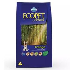 Ração Ecopet Natural Cães Adultos Raças Pequenas Frango