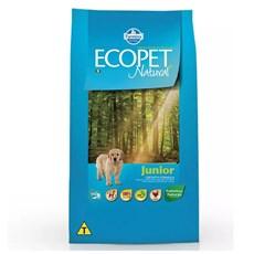 Ração Ecopet Natural Cães Filhotes