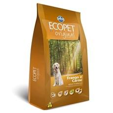 Ração Ecopet Original  Cães Adultos Carne e Frango