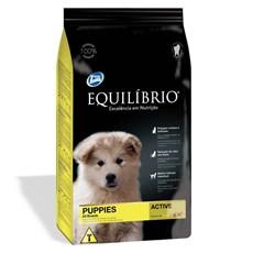 Ração Equilíbrio Active Cães Filhotes - 15kg