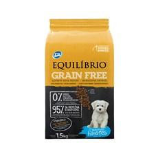 Ração Equilíbrio Grain Free Cães Filhotes Raças Mini 1,5kg