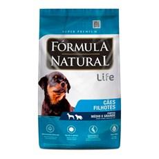 Ração Fórmula Natural Cães Filhote Raças Médias e Grande