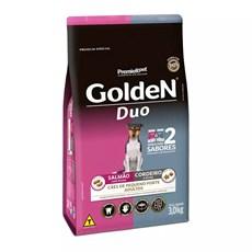 Ração Golden Duo Cães Adultos Pequeno Porte Salmão E Cordeiro