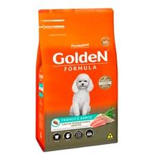 Ração Golden Fórmula Cães Adultos Mini Bits Carne e Arroz