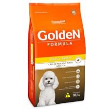 Ração Golden Fórmula Cães Adultos Mini Bits Peru e Arroz