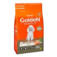 Ração Golden Fórmula Cães Adultos Mini Bits Salmão e Arroz