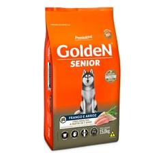 Ração Golden Fórmula Cães Adultos Sênior +7 Frango e Arroz